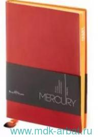 "Ежедневник недатированыый А5""Mercury"" бордовый : арт. 3-435/10 (ТМ Bruno Visconti)"