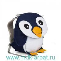 "Рюкзак детский ""Pepe Penguine"" сине-белый : Арт.AFZ-FAS-001-017 (ТМ Affenzahn)"