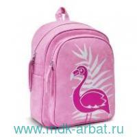 """Рюкзак 35х26х16см """"Фламинго"""" розовый : арт.48372 (ТМ Феникс+)"""
