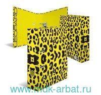 "Папка-регистратор А4 70мм ""Леопард"" : арт.19783 (ТМ Herma)"