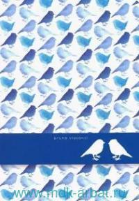 "Тетрадь, 40 листов, клетка, ""Birds"" : арт. 7-40-001/52 (ТМ Bruno Visconti)"