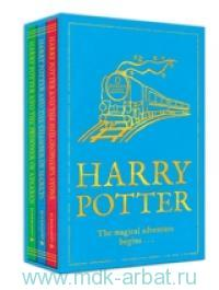 Harry Potter. The Magic Adventure Begins : Harry Potter and the Philosopher's Stone ; Harry Potter and the Chamber of Secrets ; Harry Potter and the Prisoner of Azkaban
