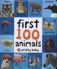 First 100 animals : Board Book