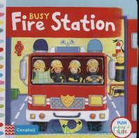 Busy Fire Station : Push Pull Slide