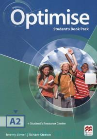Optimise A2 : Student's Book Pack : Student's Resourse Centre : Your Access Code