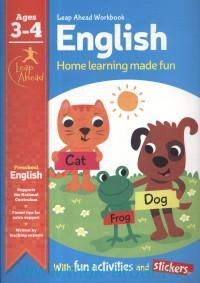 English : Home Learning Made Fun : Ages 3-4