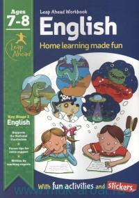 English : Home Learning Made Fun : Ages 7-8 : with fun activities and stickers