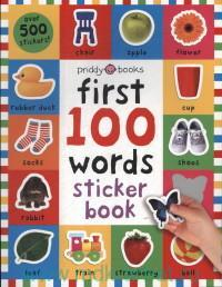 First 100 Words : Sticker Book