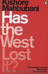 Has the West Lost It? A Provocation