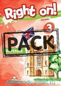 Right on! 3. Workbook Student's Book with Digibook Application