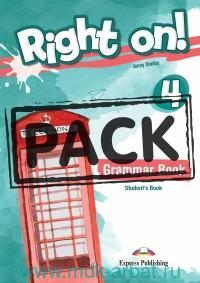 Right On! 4. Grammar Book Student's with Digibook Application