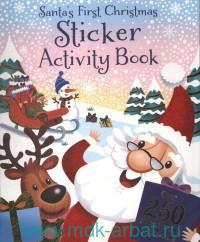 Santas First Christmas Sticker Activity Book