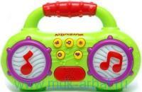 Мульти-пульти : Магнитофончик : электронная музыкальная игрушка