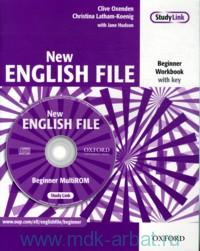New English File. Beginner : Workbook : with key