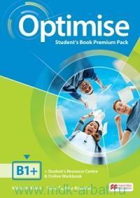 Optimise B1+ : Student's Book Premium Pack : Student's Resourse Centre & Online Workbook