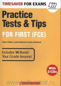 Timesaver for Exams : Practice Tests & Tips for First (FCE)
