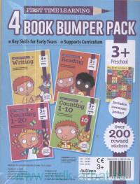 4 Book Bumper Pack : Writing ; Reading ; Counting. 1-20 ; Counting. 1-10