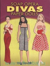 Soap Opera Divas Paper Dolls