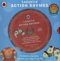 Ladybird Action Rhymes : Collection Includes 4 Books and Sing-Along CD!