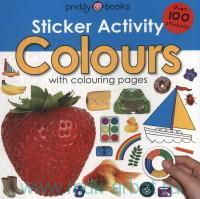 Colours With Colouring Pages : Over 100 Stickers