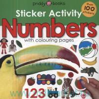 Numbers With Colouring Pages : Over 100 Stickers
