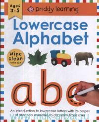Lowercase Alphabet : Ages 3-5 : Wipe Clean With Pen