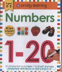 Numbers : Ages 3-5 : Wipe Clean With Pen