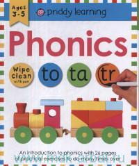 Phonics : Ages 3-5 : Wipe Clean With Pen