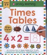 Times Tables : Ages 5-7 : Wipe Clean With Pen