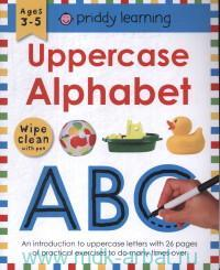 Uppercase Alphabet : Ages 3-5 : Wipe Clean With Pen
