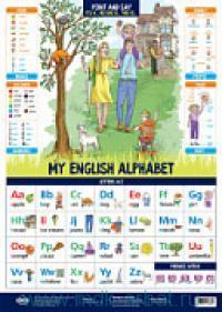 My English Alphabet : плакат