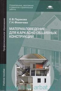 Материаловедение для каркасно-обшивных конструкций : учебное пособие для студентов учреждений среднего профессионального образования