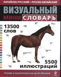 Китайско-русский. Русско-китайский визуальный мини-словарь : 13500 слов