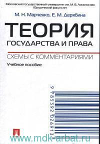 Теория государства и права. Схемы с комментариями : учебное пособие
