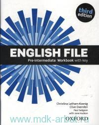 English File : Pre-Intermediate : Workbook with key