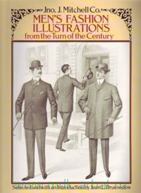 Men`s Fashion Illustrations from the Turn of the Century