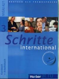Schritte International 3 : Kursbuch + Arbeitsbuch : Niveau A2/1