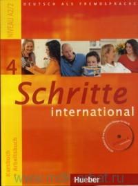 Schritte International 4 : Kursbuch + Arbeitsbuch : Niveau A2/2