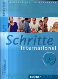 Schritte International 5 : Kursbuch + Arbeitsbuch : Niveau B1/1