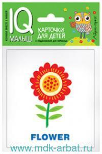 Растения = Plants : карточки для детей с подсказками для взрослых : для детей с самого раннего возраста