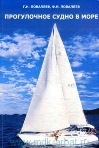 Прогулочное судно в море