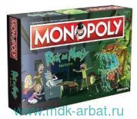 """Игра настольная """"Монополия. Рик и Морти"""""""