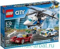 """Конструктор """"Lego City. Стремительная погоня"""""""