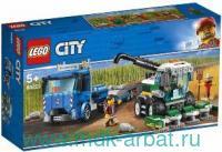 """Конструктор """"Lego City. Транспортировщик комбайна"""""""