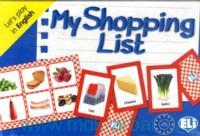 My Shopping List : Let's play in English : Level A1-A2