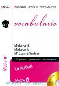 En Vocabulario : Medio B1 : Con Soluciones : Espanol Lengua Extranjera