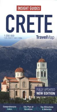 Crete : Travel Map : M 1:200 000