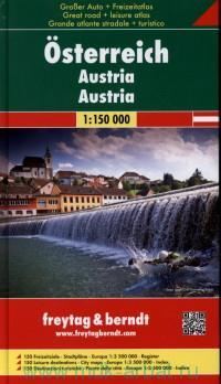 Osterreich = Austria : М1:150000 : Groser Auto + Freizeitatlas