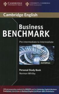 Cambridge English : Business Benchmark : Pre-Intermediate to Intermediate : Personal Study Book