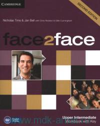 Face2Face : Upper-Intermediate B2 : Workbook with Key